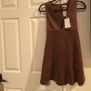 Wilfred suede dress